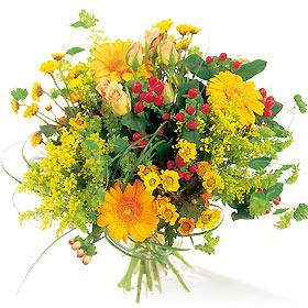 Fleurs page 9 for Bouquet de fleurs jaunes