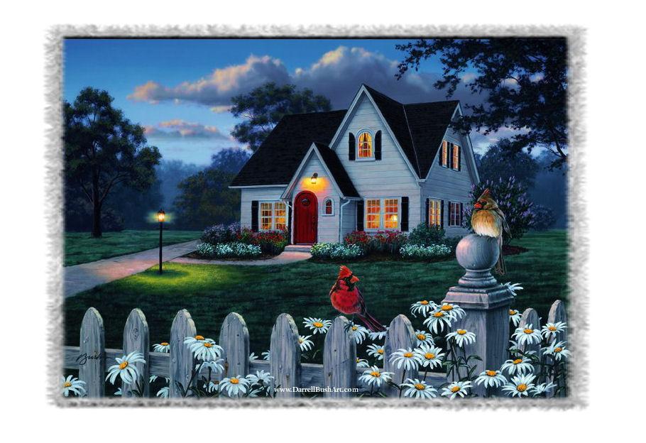Maisons habitations etc for Jardin maison de campagne