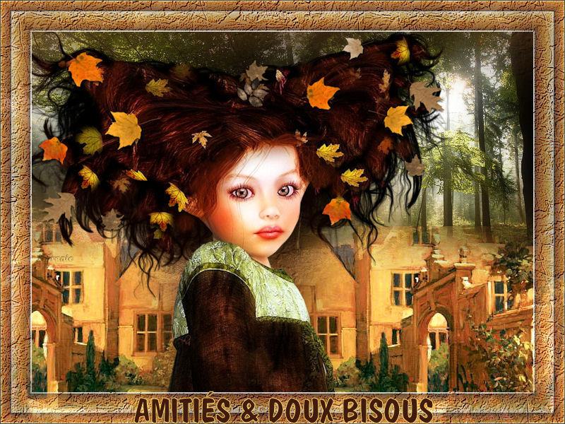 AMITIES DOUX BISOUS