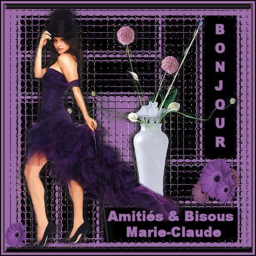BONJOUR MARIE-CLAUDE